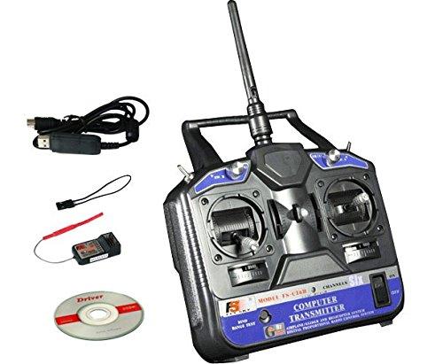 FlySky FS-CT6B 6 Channel Radio Remote Control (2.4 GHz)