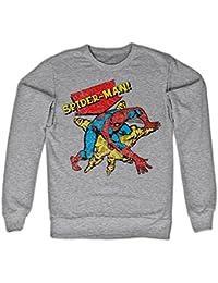 Retro Spider-Man Sweatshirt (H.Gris)