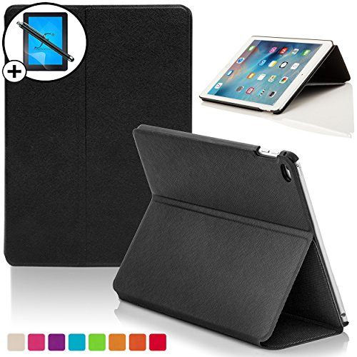 Forefront-Cases-Luxury-Leather-Case-CoverStand-with-Magnetic-Auto-Sleep-Wake-Function-for-iPad-34-BlackP