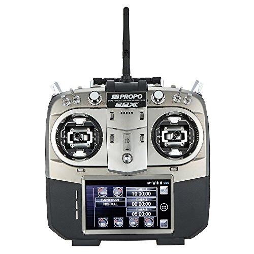 Preisvergleich Produktbild JR PROPO 28X 2,4 GHz 28 Kanal DMSS Fernsteuerung Mode 2 mit TX Case & RG712BX 7CH Empfänger X.BUS System für RC Quadrocopter Multicopter Helicopter Glider