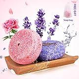 Ucradle Shampoo Bar, 100% Natural Hair Vegan Shampoo Bar Various Plant Essence H