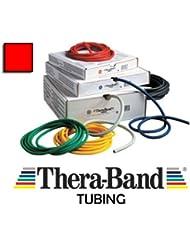 Theraband Tubing, Widerstand: Medium, Rot