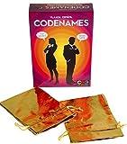 Code Names Game Bonus 2 Gold Metallic Cl...