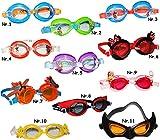 alles-meine.de GmbH 3-D _ Schwimmbrille / Chlorbrille / Taucherbrille -  Disney Planes - Dusty  - Kinder von 2 bis 12 Jahre - wasserdicht & Anti Beschlag / verstellbar - Jungen..