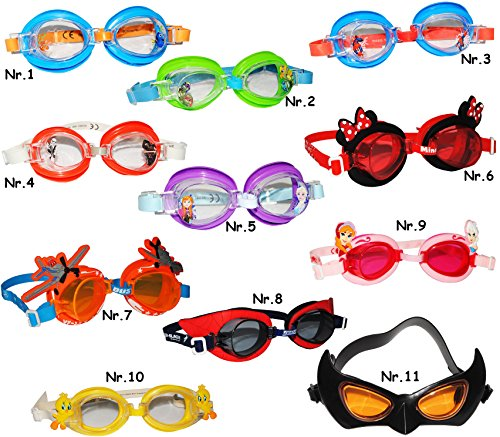 alles-meine.de GmbH Schwimmbrille / Chlorbrille / Taucherbrille -  Ultimate Spider-Man  - Kinder von...