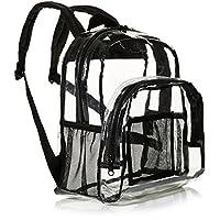 حقيبة ظهر صغيرة من امازون بيسكس، شفافة