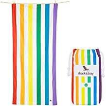 Microfibre Beach Towels for Travel - Quick Dry Towel for Swimmers, Sand Free Towel (Extra Large XL 200x90cm, Large 160x80cm, Round Towel Beach Blanket) Beach towels for kids & adults