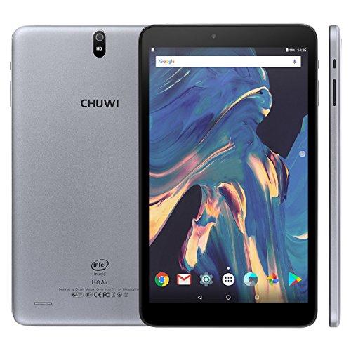 CHUWI Hi8 Air - 8 Zoll Tablet PC Windows 10 Android 5.1 Dual Systems (Intel Cherry Trail Z8350 Quad Core Prozessor, 2GB RAM 32GB ROM, Dual Kameras, 1920 * 1200 Pixel, Blutooth, Wifi)