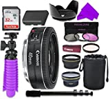 Canon12 PC Accessory Kit with Canon EF 40mm f 2.8 STM Lens