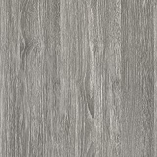 d-c-fix® Sticky Back Plastic (self adhesive vinyl film) Woodgrain Oak Sheffield Pearly Grey 90cm x 2.1m 346-5350