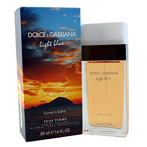 Dolce & Gabbana Light Blue Sunset in Salina femme/women, Eau de Toilette Vaporisateur, 1er Pack (1 x 50 ml) (Toilette De Light Blue Eau)