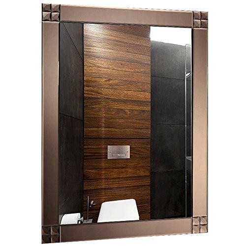 GUOWEI Espejo Baño Montado En La Pared Maquillaje