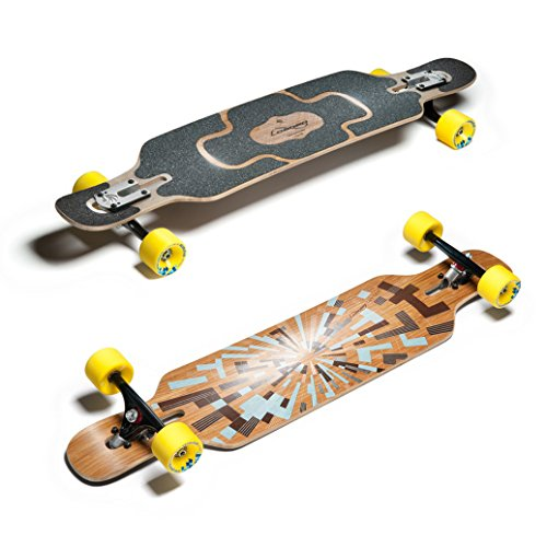 Loaded Tan Tien Flex1 Longboard - Freestyle Board 8.7 x 99.06 cm (Flex2: 55 kg - 95 kg)