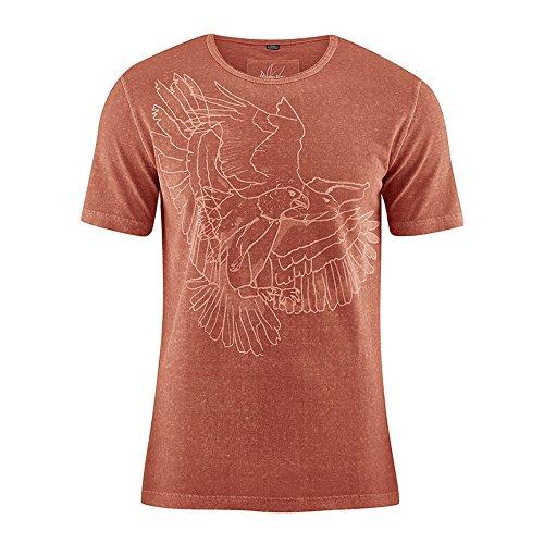 HempAge Herren T-Shirt Eagle aus Hanf/Bio-Baumwolle (Männer Bio-kleidung)