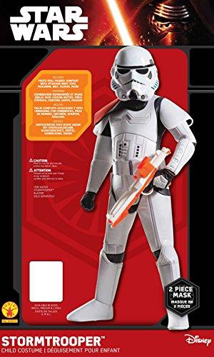 Imagen de rubie 's–disfraz de super deluxe oficial de disney star wars stormtrooper, los niños–tamaño grande alternativa