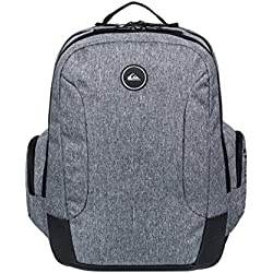Quiksilver SCHOOLIE II Backpack, Hombre, Light Grey Heather, 1SZ