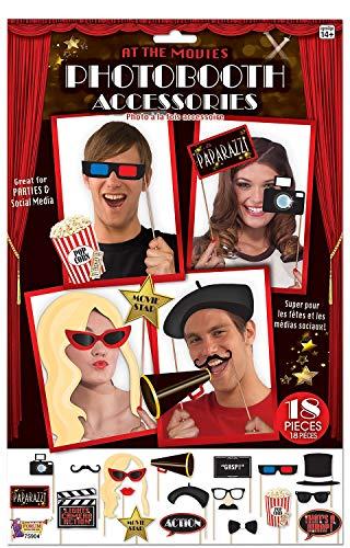 Hollywood Film-Nacht-Party Feier Geburtstag Fun Foto Booth Requisiten Selfie Station