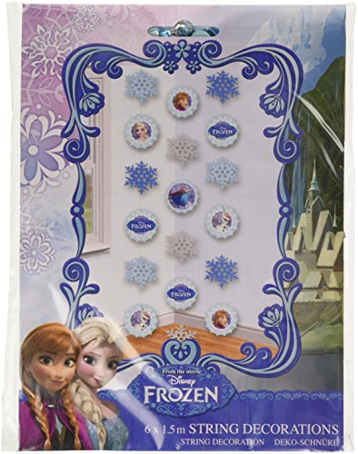 Amscan International Frozen kettendekoration (Disney Store Anna Kostüm)