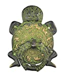 #4: Handcrafted unique brass turtle Chinese 12 zodiac door knocker Antique Repro