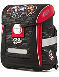 MotoGP Ergo Schulranzen/Ergonomic Backpack 18MGP-902-RD Mochila Escolar 42 Centimeters (Red, Black)