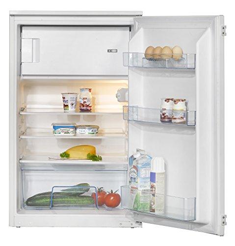 Amica EKS 16171 Kühlschrank / A++ / 87,5 cm Höhe / 146 kWh/Jahr / 105 L Kühlteil / 17 L Gefrierteil / AntiBacteria Beschichtung für optimale Hygiene / Wechselbarer Türanschlag / weiß