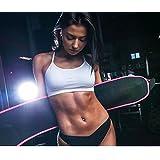 Wearslim Sweat Waist Belt/Belly Tummy Yoga Wrap Black Exercise Body Slim Look Belt Free Size