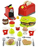 Ecoiffier 2647 Toaster mit Zubehör, Bunt
