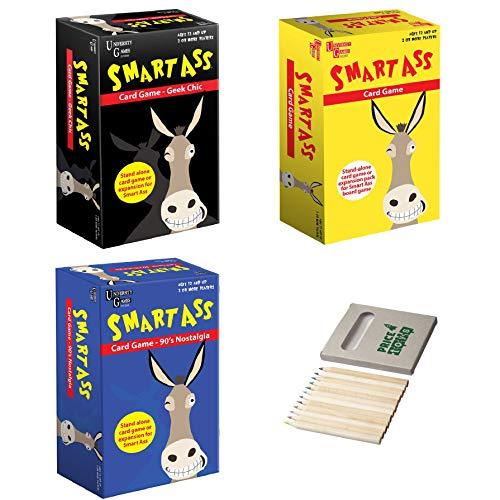 Price Toys Inteligentes Ass Juegos de Cartas - Viajes, de 90 Nostalgia y Elegante del Friki (Travel/90's/Geek)