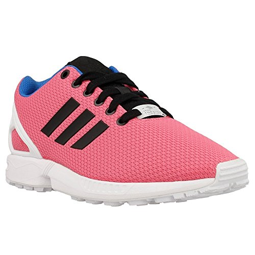 adidas Originals - ZX Flux W - Couleur: Blanc-Noir-Rose - Pointure: 38.6