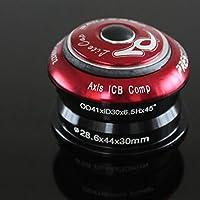 """darpy (TM) ROCKBROS in lega bicicletta serie sterzo sigillato cartuccia cuscinetti auricolari 11/8""""7colori, Red"""