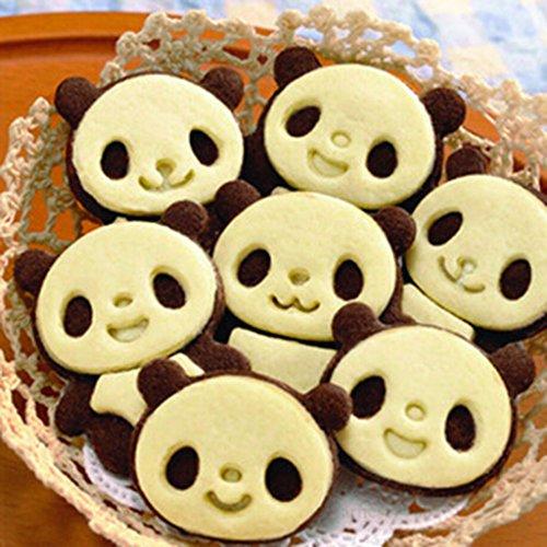 Cute Forme Moule de Panda Gâteau Cookie Patisserie Sandwich Toast Moule pour Soiré Petit-Déjeuner DIY