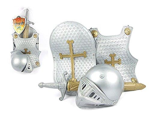 stpanzer Ritter Rüstung Kostüm für Kinder Halloween Karneval Fasching Spielzeug Weinachten Geschenk ()