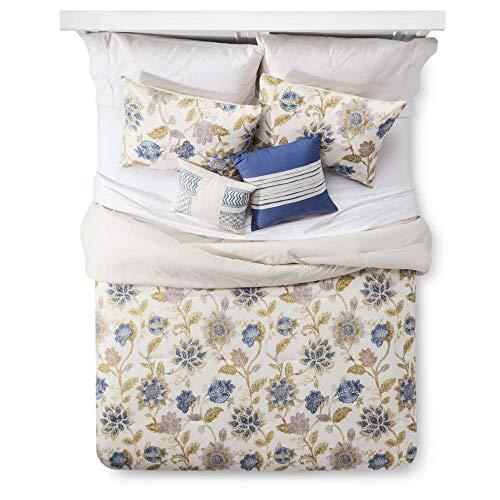 Cotton 5Stück Tröster Set Creme Floral Santa Cruz King -