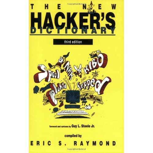 The New Hacker's Dictionary (October 11,1996)