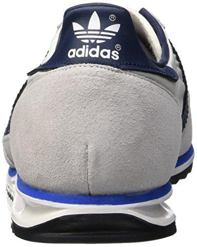 Adidas Sl 72 Scarpe da Ginnastica Bianco (Ftwr White/Collegiate Navy/Bright Royal)