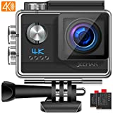 JEEMAK 4K Action Cam WiFi Action Camera 20MP Fotocamera Subacquea Compatibile con gopro