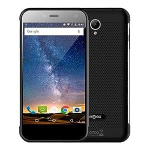 NOMU S20 IP68 Smartphone Etanche Antichoc Smartphone débloqué 4G 5,5 Pouces ( 3Go RAM + 32Go ROM - Caméra 13.0MP&8.0MP - 5,5 Pouces HD - Batterie 3000 mAh - Double SIM - 1.5GHz 64bit - Quad core) - Noir