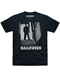 Official Halloween T-shirt Michael Myers Stairs, Pour homme
