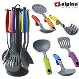Alpina Set di utensili da cucina in nylon, 7pezzi