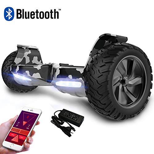 """Colorway Hoverboard Selbstbalancierender Scooter Elektro-Scooter mit Geländewagen für alle Gelände 8.5 \""""Hummer Integrierte Bluetooth-APP-LED mit 2 * 350W leistungsstarkem Motor"""
