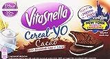 Vitasnella - Cereal-Yo , Cacao, Con Fermenti Vivi e Fibre - 12 confezioni da 5 pezzi da 50.6 g [60 pezzi, 3036 g]