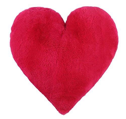 Ysting A forma di cuore reale tutta la pelle del coniglio di Rex pelliccia Cuscini