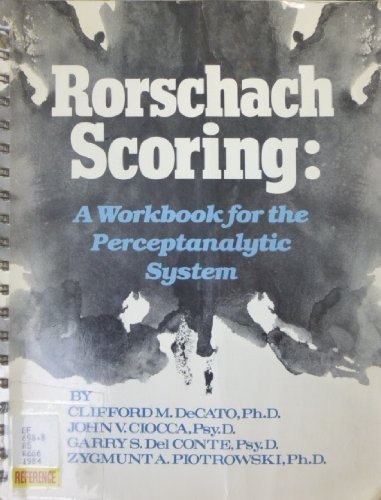 Rorschach Scoring by Decato (1984-01-01)
