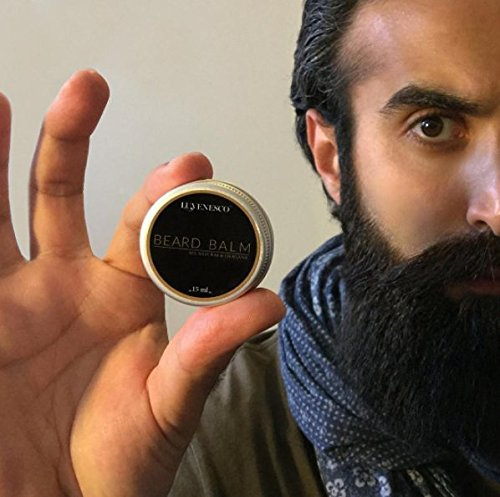 All-Natural-Organic-Beard-Balm-By-Luvenesco-Daily-beard-Conditioner-that-Promotes-Healthy-Beard-Growth--Natural-Beard-Care-for-Men--15-ml