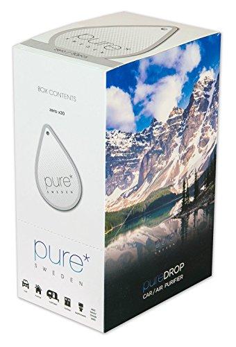Pure, 30Stück-Box/Tablestand, Luftreiniger, Papier, Auto-Lufterfrischer mit Air-Einheit, Luftreiniger, Activ pureifier für Autos, Boote, Wohnmobile, Haus, Schränke, Badezimmer, Haustier, -