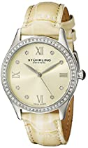 Stuhrling Original Damen-Armbanduhr Vogue Analog Quarz 431.03