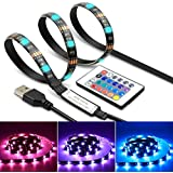 LED Strips TV Bias Backlight Strip Waterproof Accent RGB Lights Strip With Remote Control For HDTV Desktop PC Multi Color
