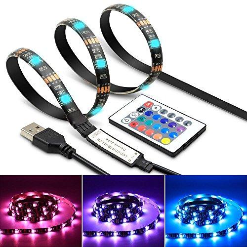 Tiras de LED TV Bias Backlight tira impermeable acento RGB luces tira...