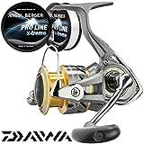 Daiwa Crossfire Spinnolle gratis Pro Line x-treme Schnur (4000)