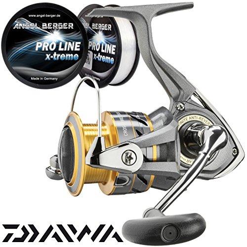 Daiwa Crossfire Spinnolle gratis Pro Line x-treme Schnur (5000)